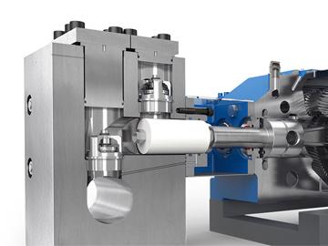 LEWA plunger pump head KMCL