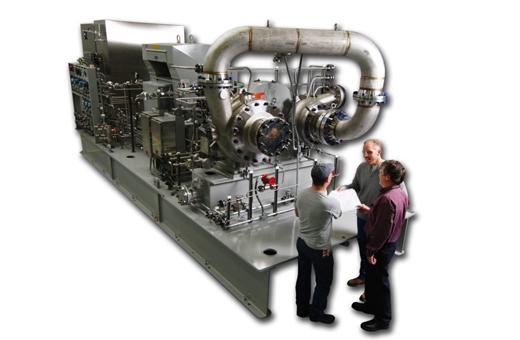 Sundyne Pinnacle LF2000 多段離心式氣體壓縮機